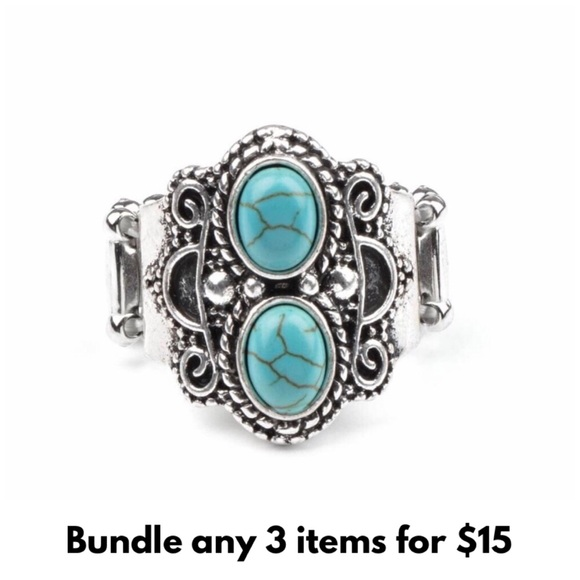 Eco Essence Silver & Turquoise Ring